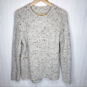 Madewell Mock Neck Knit Sweater